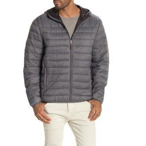 Hawke & Co. Hooded Packable Down Jacket